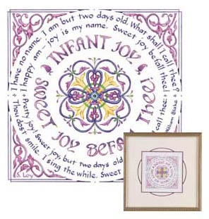 a comparison of infant joy and infant sorrow by william blake Infant sorrow (experience)  the best-known work of the english poet and artist  william blake, songs of innocence and of experience employs the mediums of  poetry  infant joy in songs of innocence is a very simple and delicate poem.