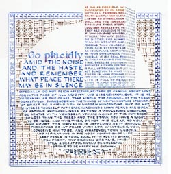 picture relating to Desiderata Printable called Desiderata by way of Max Ehrman print as a result of Susan Loy